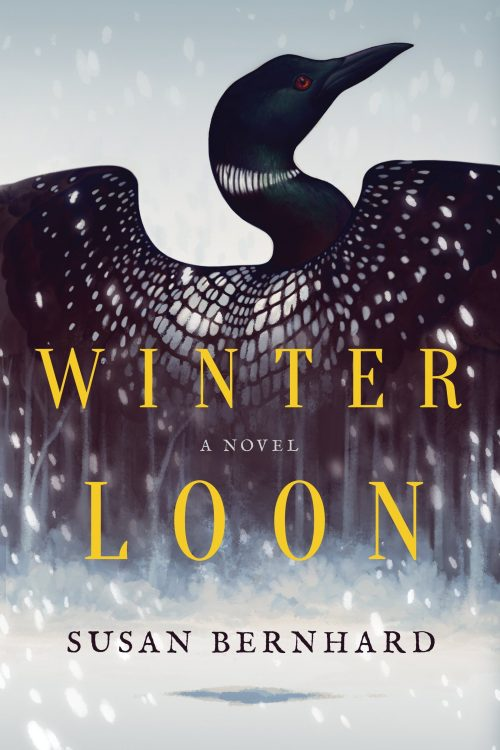 Winter Loon by Susan Bernhard book cover